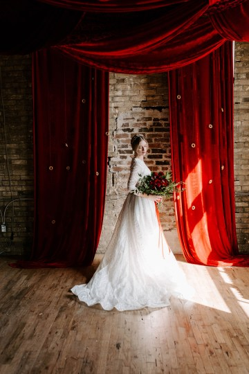 Whimsical Red and Green Wedding Inspiration with Russian Folk Details – Whim and Willow Photo 32