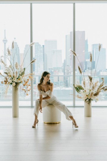 Chic Fall Loft Wedding Inspiration from Toronto – Shannon Robbins Photography – June Bloom Events 25