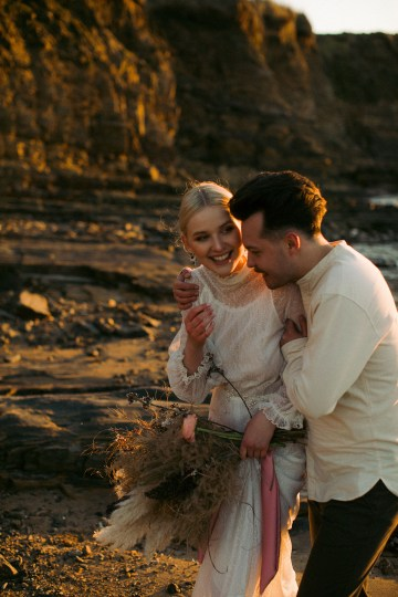 Gorgeous Coastal Ireland Wedding Inspiration – White Cat Studio – Petal and Twine 43