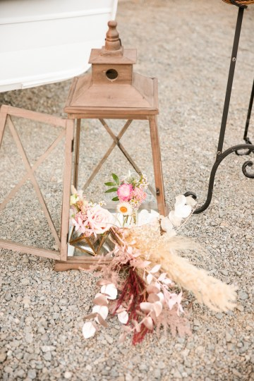 Pink Boho Farm Wedding Inspiration filled with Pretty Details – Carrie McCluskey Photo 29
