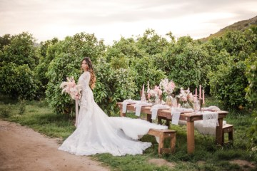 Pink Boho Farm Wedding Inspiration filled with Pretty Details – Carrie McCluskey Photo 38