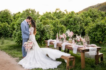Pink Boho Farm Wedding Inspiration filled with Pretty Details – Carrie McCluskey Photo 39
