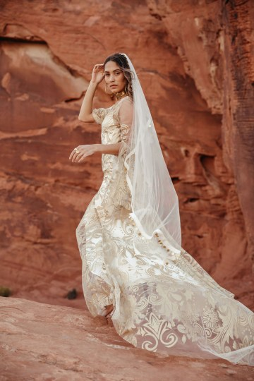 Rue de Seine Moonrise Canyon Wedding Dress Collection – Dolly Gown 10