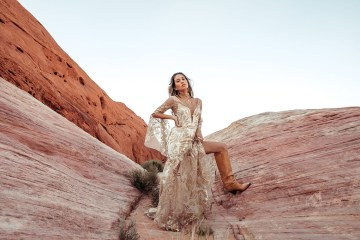 Rue de Seine Moonrise Canyon Wedding Dress Collection – Dolly Gown 2