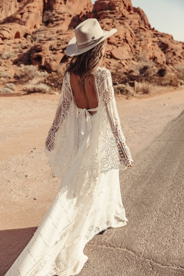 Rue de Seine Moonrise Canyon Wedding Dress Collection – Harvest Moon Gown 6
