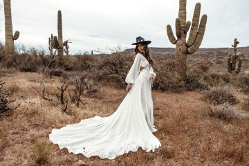 Rue de Seine Moonrise Canyon Wedding Dress Collection – Presley Gown 2