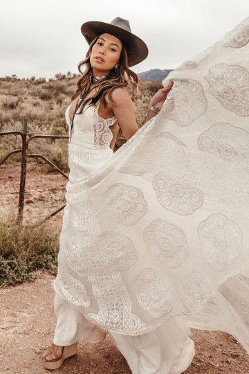 Rue de Seine Moonrise Canyon Wedding Dress Collection – Sedona Gown 2