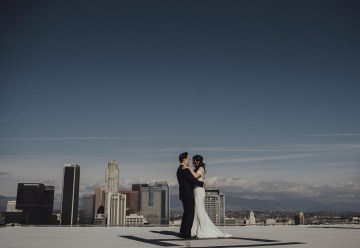 Los Angeles Rooftop Wedding with Incredible Views – Tyler Branch – CCL Weddings and Events 1