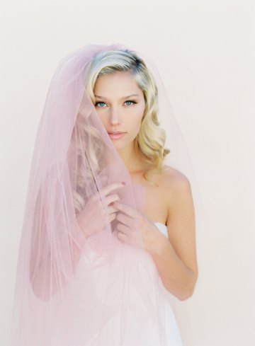 Where to Buy Bridal Veils and Accessories – Veiled Beauty – Little Something Blush Veil