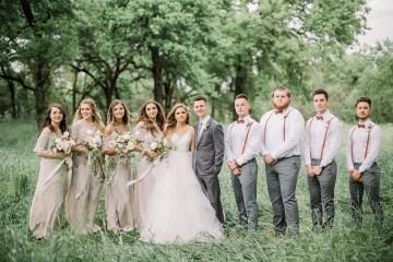 Whimsical Floral-Filled Woodland Wedding – Walnut and Main – Irina Turkova Photography 38