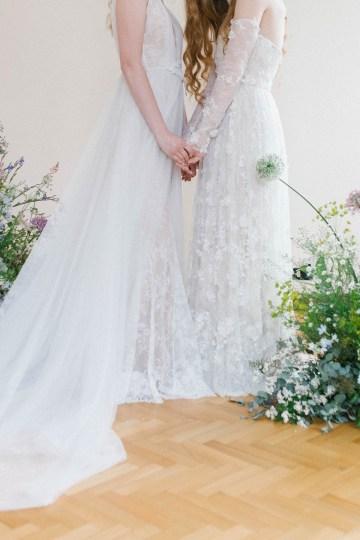 Artistic Renaissance Botticelli Same Sex Wedding Inspiration – Irene Fucci 22