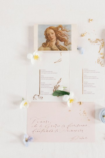 Artistic Renaissance Botticelli Same Sex Wedding Inspiration – Irene Fucci 6