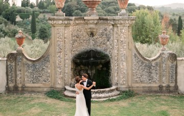 Breathtaking Tuscan Fine Art Wedding Inspiration