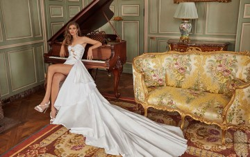 The Fancy White 2020 Wedding Dress Collection By Galia Lahav