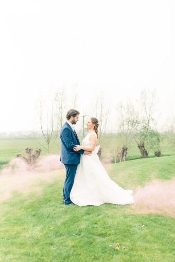 Pretty Pink Almonry Barn Wedding Inspiration – Liz Baker Photography 11