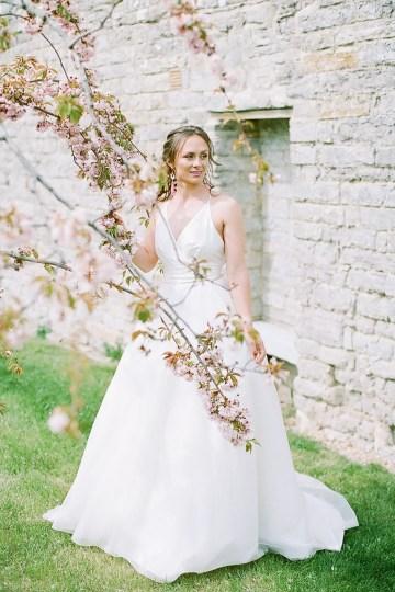 Pretty Pink Almonry Barn Wedding Inspiration – Liz Baker Photography 19