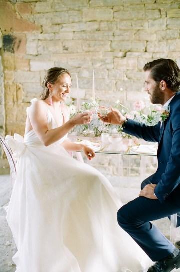 Pretty Pink Almonry Barn Wedding Inspiration – Liz Baker Photography 26