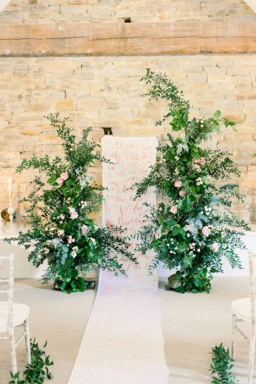 Pretty Pink Almonry Barn Wedding Inspiration – Liz Baker Photography 3