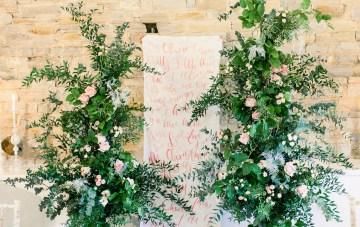 Pretty Pink Almonry Barn Wedding Inspiration – Liz Baker Photography 3