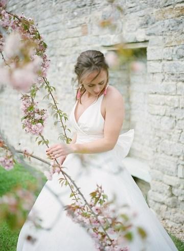 Pretty Pink Almonry Barn Wedding Inspiration – Liz Baker Photography 57