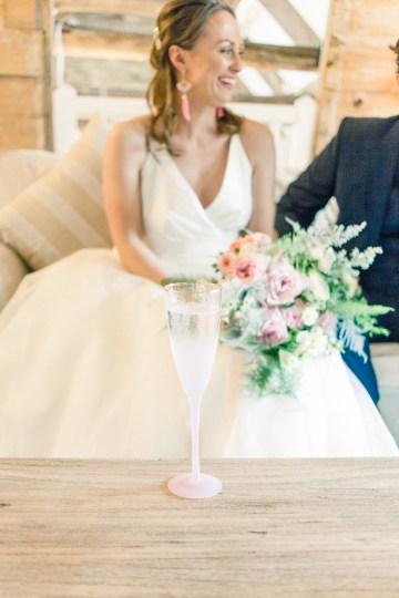 Pretty Pink Almonry Barn Wedding Inspiration – Liz Baker Photography 9
