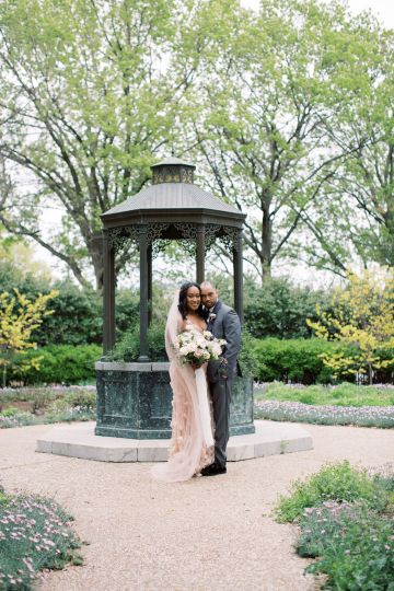 Pretty Texas Garden Wedding With A Blush Pink Wedding Dress – Deven Ashley 29