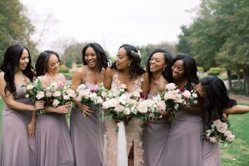 Pretty Texas Garden Wedding With A Blush Pink Wedding Dress – Deven Ashley 8
