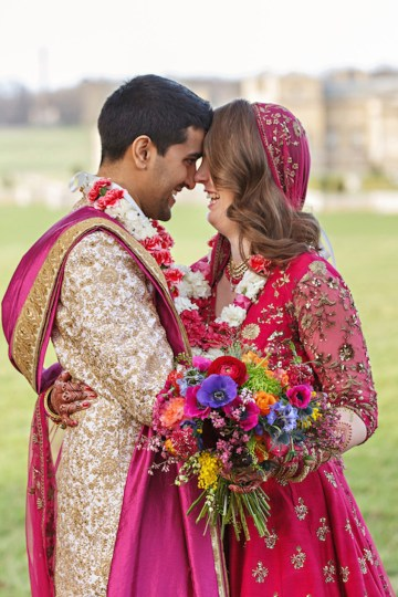 Regal and Colorful Indian Wedding with Watercolor Details – Chris Taylor 28