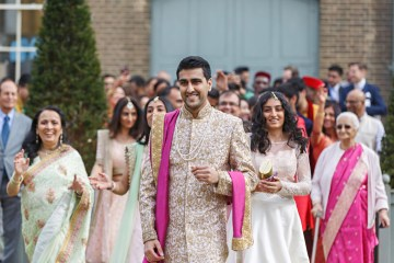 Regal and Colorful Indian Wedding with Watercolor Details – Chris Taylor 3