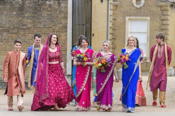 Regal and Colorful Indian Wedding with Watercolor Details – Chris Taylor 4