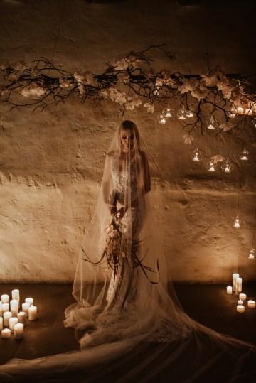 Candlelit Wedding Inspiration With Pretty Fairy Lights – Lauren Pretorius Photography 22