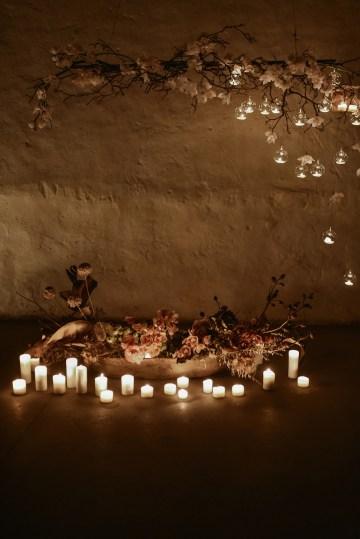 Candlelit Wedding Inspiration With Pretty Fairy Lights – Lauren Pretorius Photography 31
