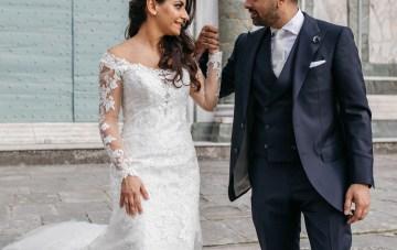 Classic Florence Italy Destination Wedding – Villa La Vedetta – Photo Santucci 27