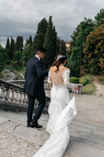 Classic Florence Italy Destination Wedding – Villa La Vedetta – Photo Santucci 28