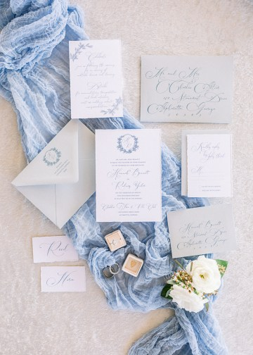 Dusty Blue Meadow Wedding Inspiration – Gracious Company 11