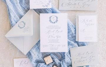 Dusty Blue Meadow Wedding Inspiration – Gracious Company 11