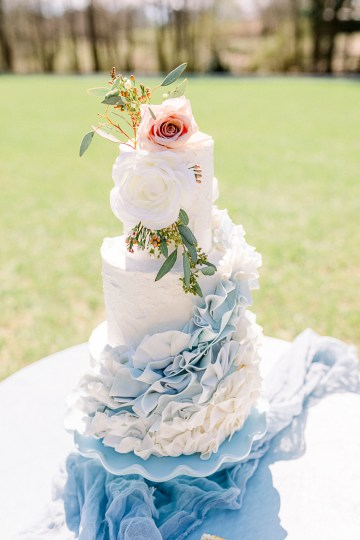 Dusty Blue Meadow Wedding Inspiration – Gracious Company 19