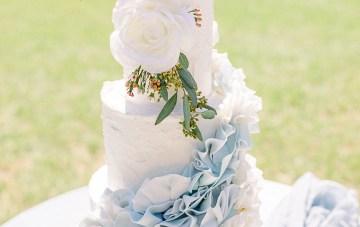 Dusty Blue Meadow Wedding Inspiration – Gracious Company 19