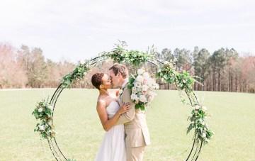 Dusty Blue Meadow Wedding Inspiration – Gracious Company 28