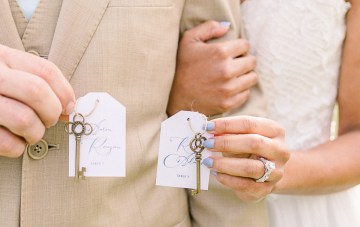 Dusty Blue Meadow Wedding Inspiration – Gracious Company 55