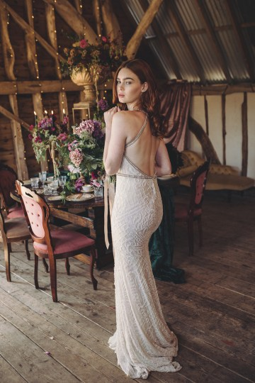 Opulent Barn Holiday Wedding Inspiration – Kerry Ann Duffy Photography 22