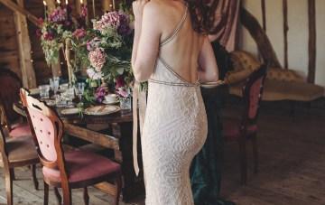 Opulent Barn Holiday Wedding Inspiration – Kerry Ann Duffy Photography 22