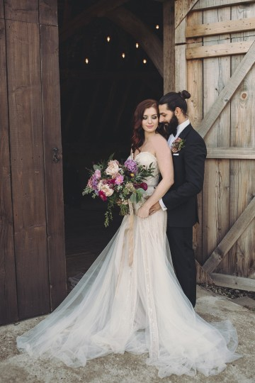 Opulent Barn Holiday Wedding Inspiration – Kerry Ann Duffy Photography 29