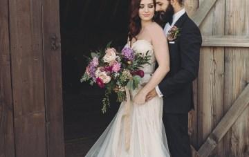 Opulent Barn Holiday Wedding Inspiration – Kerry Ann Duffy Photography 29