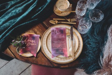 Opulent Barn Holiday Wedding Inspiration – Kerry Ann Duffy Photography 3
