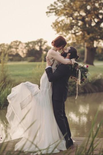 Opulent Barn Holiday Wedding Inspiration – Kerry Ann Duffy Photography 45