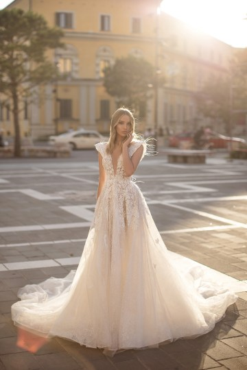 Showstopping Dazzling WONA Bridal Wedding Dresses – Aurora – Crystal