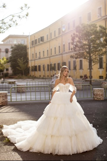 Showstopping Dazzling WONA Bridal Wedding Dresses – Aurora – Evelyn
