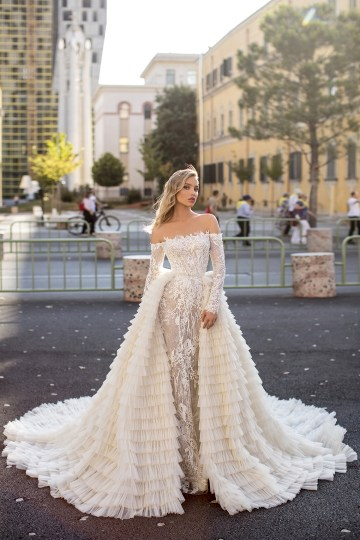 Showstopping Dazzling WONA Bridal Wedding Dresses – Aurora – Helena