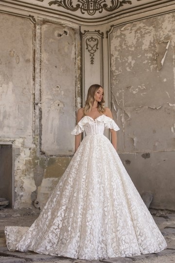 Showstopping Dazzling WONA Bridal Wedding Dresses – Aurora – Isabella